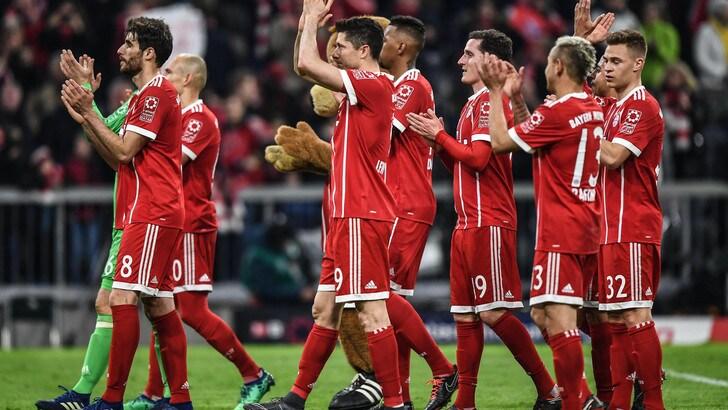 Il Bayern umilia il Borussia Dortmund: finisce 6-0