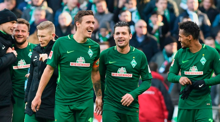 Bundesliga: il Werder batte 2-1 l'Eintracht Francoforte