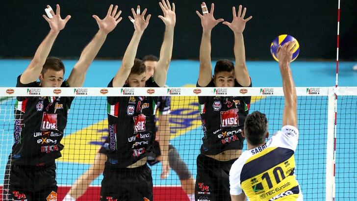Volley: Superlega, a Trento e Modena va in scena Gara 2 di Semifinale