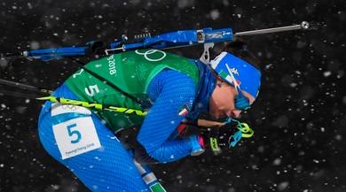 Biathlon, l'Italia arriva terza nella staffetta di Oslo