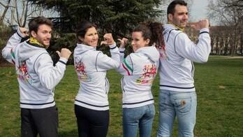 4 amici super atleti in 4 città diverse per In's RunAndGo