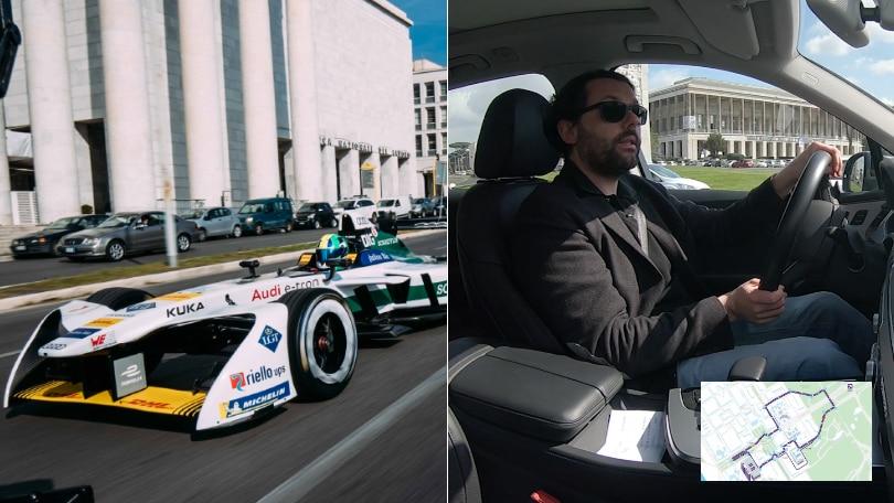 Formula E Roma, il giro del circuito in anteprima