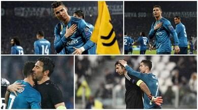 Cristiano Ronaldo e quell'inchino ai tifosi della Juventus...
