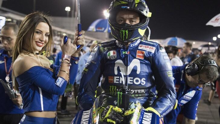 MotoGp Yamaha, Rossi: «Potrebbe essere un fine settimana sorprendente»