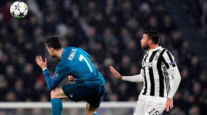 Juventus, si ferma Barzagli: distrazione muscolare