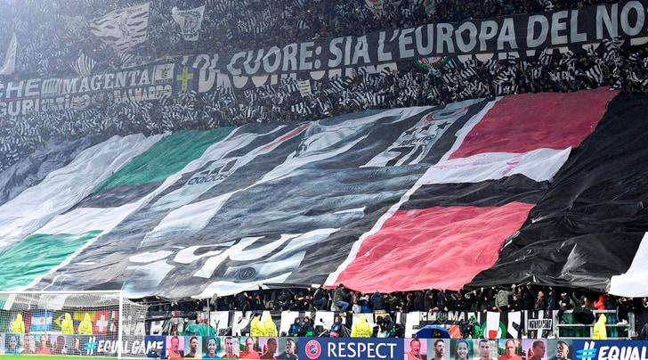 I tifosi sempre con la Juventus: pienone con la Samp e curve esaurite in Coppa Italia