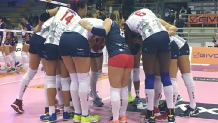 Volley: A2 Femminile, Baronissi vince in scioltezza sul campo della VolAlto