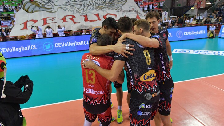 Volley: Champions League, Perugia, Civitanova e Trento in campo per l'andata dei Play Off 6