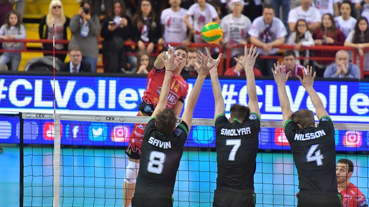 Volley: Champions League, super Perugia spazza via il Novosibirsk