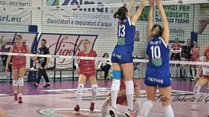 Volley: A2 Femminile, Marsala batte Perugia per l'onore e i tifosi