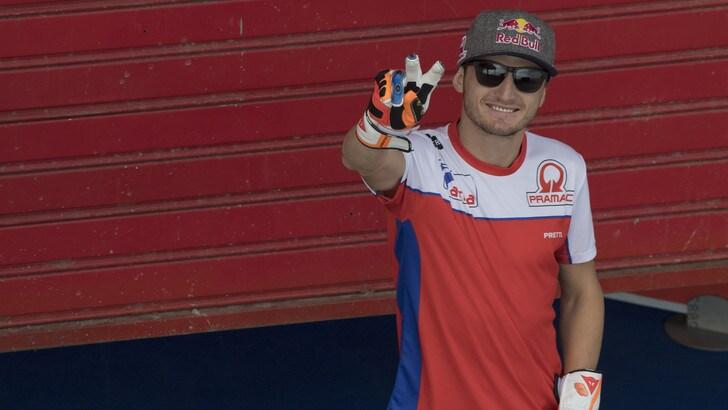 MotoGp, Jack Miller torna in circuito con la Ducati Panigale V4R