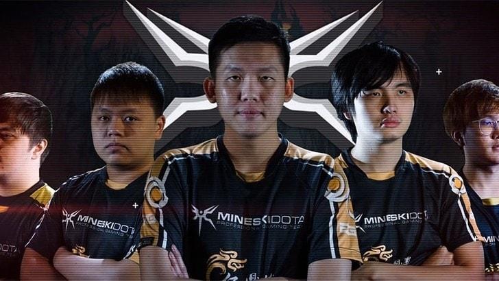 I Mineski vincono il Dota Asia Championship