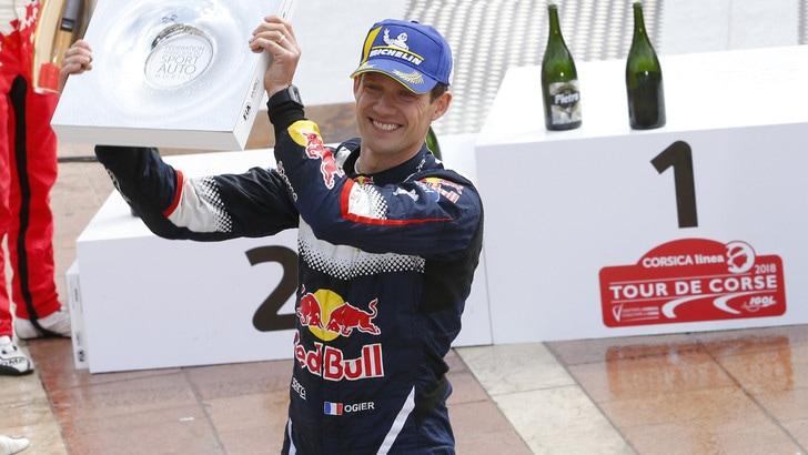 Rally WRC in Corsica: Sebastien Ogier vince ancora
