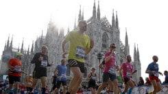 Più lenta ne tempo dei vincitori, ma è festa per la EA7 Milano Marathon