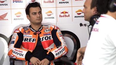 MotoGp Honda, Pedrosa: «Ad Austin proverò a correre»