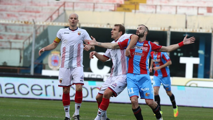 Serie C Catania-Juve Stabia 0-0, Curiale non punge