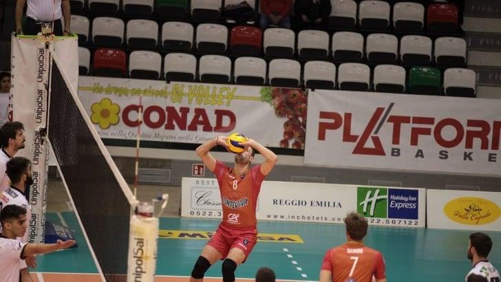 Volley: A2 Maschile, preliminari Play Out: Reggio Emilia fa sua Gara 1
