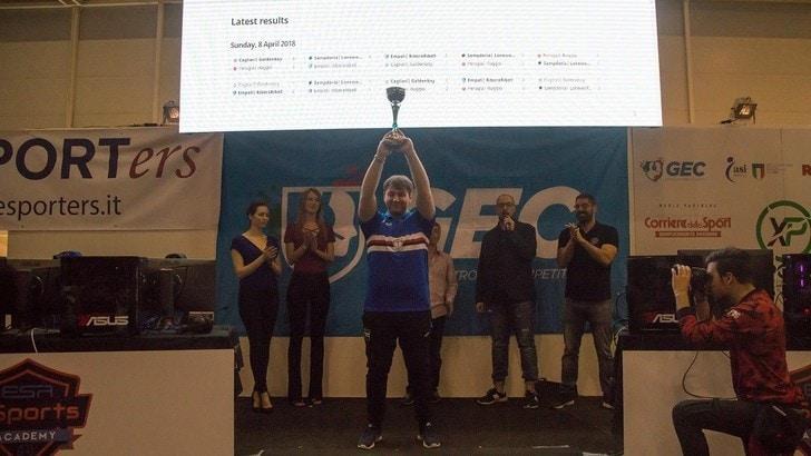 La Sampdoria conquista l'eSport Academy Trophy!