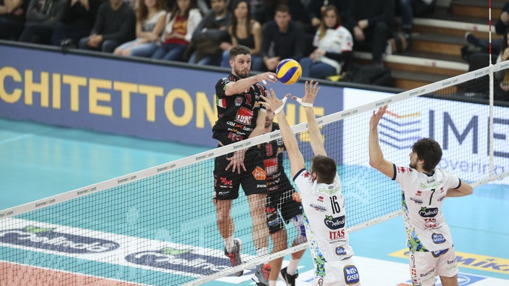 Volley: Champions League, Perugia-Novosibirsk e Trento-Civitanova sfide per entrare in Final Four