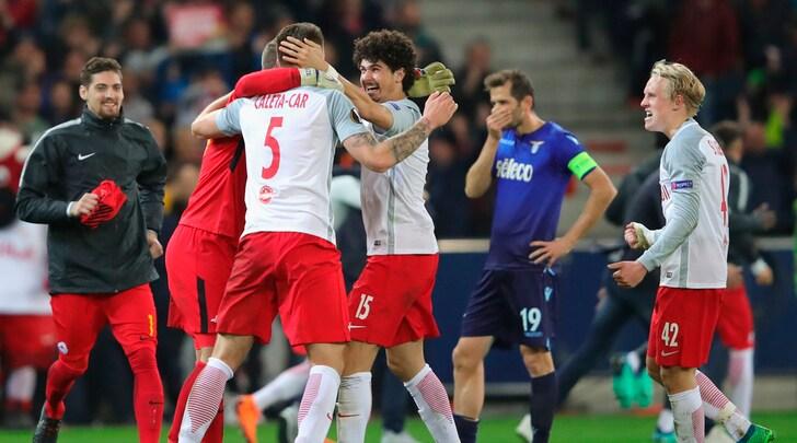 Europa League, Salisburgo-Lazio 4-1: Immobile illude, poi il crollo e l'eliminazione