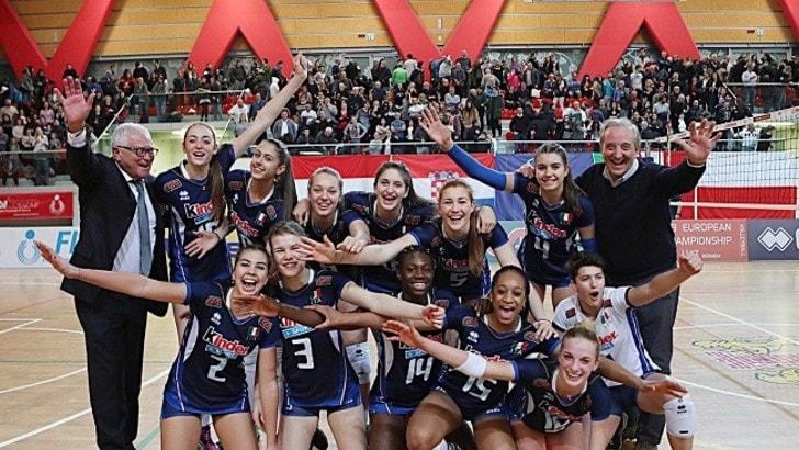 Volley: Europei Femminili Under 17, l'Italia stasera in campo con la Romania