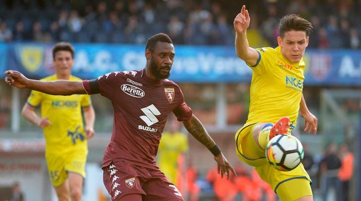 Serie A Chievo-Torino 0-0, il tabellino