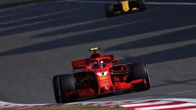 F1 Cina, Verstappen tocca Vettel: la Ferrari finisce al 7° posto