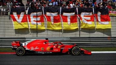 F1 Cina, Vettel: «Peccato per il pit stop troppo lento»