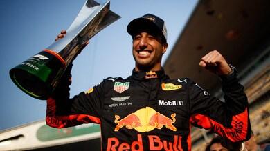F1 Cina, Ricciardo: «Ho solo seguito l'istinto»