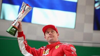 F1 Cina, Raikkonen: «Se non mi fermavo, mi sarei scontrato con Vettel»