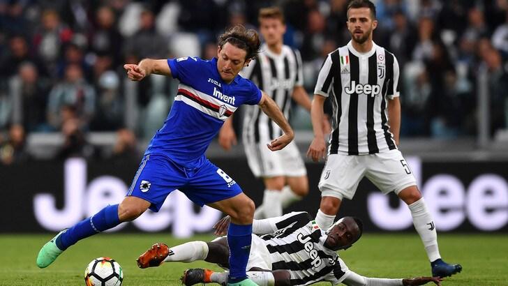 Serie A Juventus-Sampdoria 3-0, il tabellino