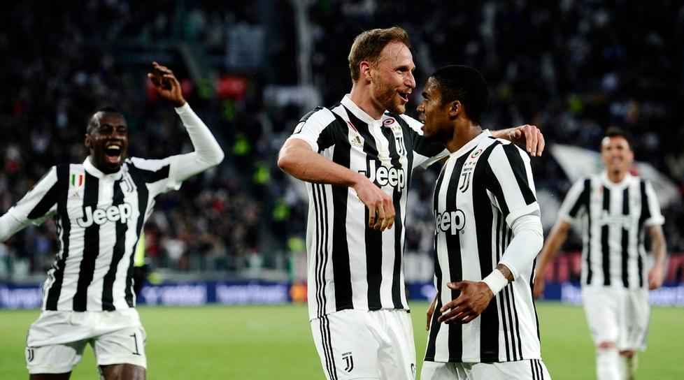 La Sampdoria travolta 3-0 allo Stadium con i gol di Mandzukic, Höwedes e Khedira