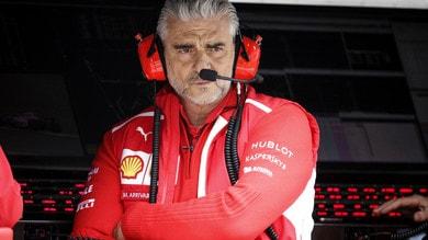 F1 Cina, Arrivabene: «Le molte variabili hanno fatto la differenza»