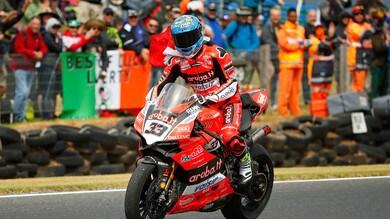 Superbike Aragon, Melandri: «È frustrante quando hai la velocità, ma non puoi fare il passo»