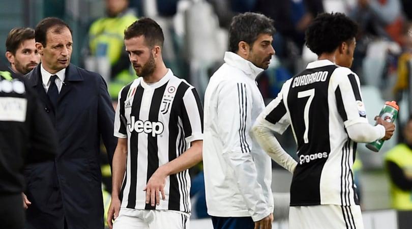 Juventus, da Pjanic a De Sciglio ecco gli aggiornamenti sugli infortunati