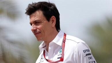 F1 Cina, Wolff: «L'unico senza colpe è Bottas»