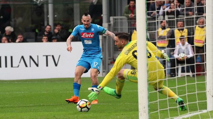Serie A Napoli, Hamsik: «Scudetto? E' ancora possibile»