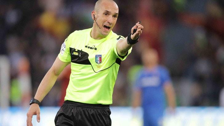 Serie A Crotone-Juventus, dirige Fabbri. Torino-Milan: Maresca