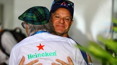 F1, Barrichello: «Sono stato fortunato»