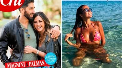Giorgia Palmas e Filippo Magnini: «Il nostro è un amore da sogno»