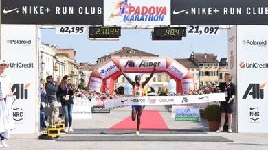 I nomi dei protagonisti della Maratona di Padova di domenica 22