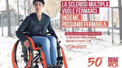 Al via la nuova campagna cross-mediale di AISM: #SMuoviti