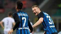 L'Inter spazza via il Cagliari con un poker di reti