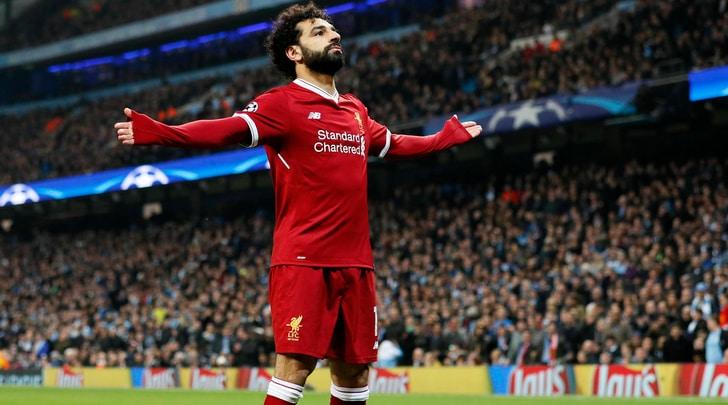 Premier League, cinque giocatori del Manchester City e Salah nella squadra ideale del 2017-2018