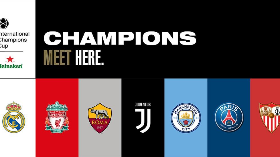 Juventus Calendario Champions.Juventus International Champions Cup 2018 Ecco Il