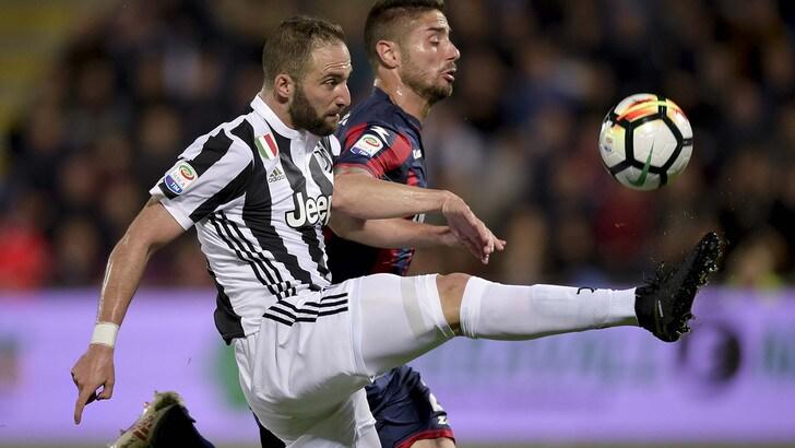 Serie A Crotone-Juventus 1-1, il tabellino