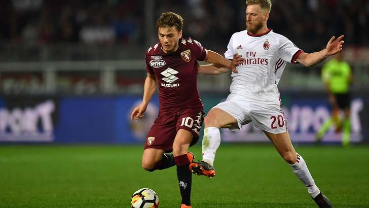 Serie A Torino-Milan 1-1, il tabellino