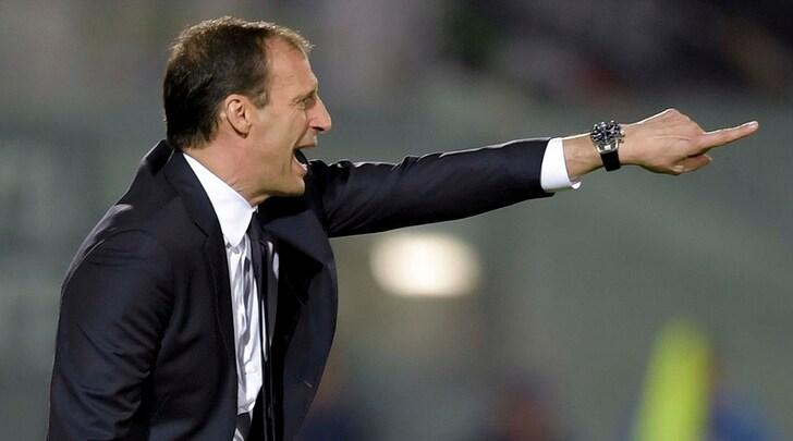 Juventus, Allegri: «Preso un gol da polli. Col Napoli non firmo per il pari»