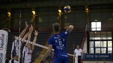 Volley: A2 Maschile, Play Out, Catania non molla batte il Club Italia e va 1-2