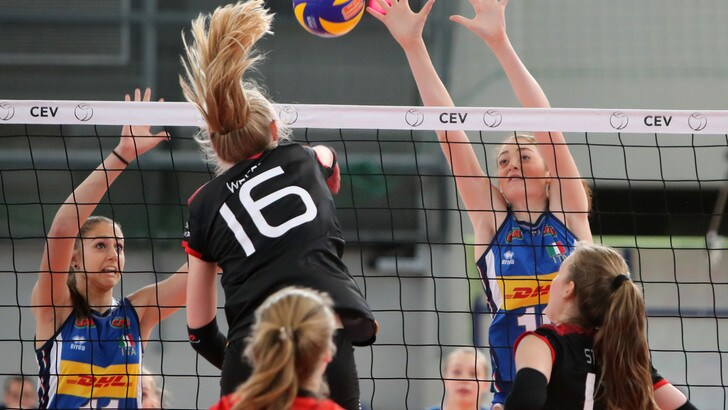 Volley: Europei Under 17, le azzurre superano la Germania e sono prime nella Pool